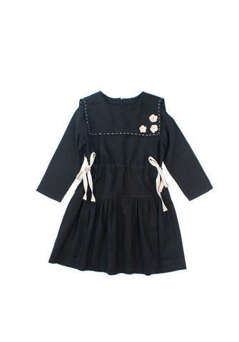 Kokori Black Poppy Dress