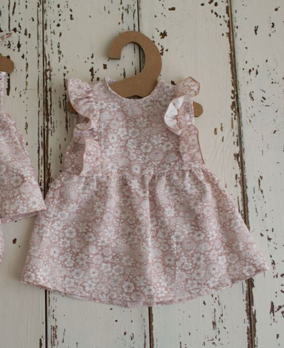 Latte Baby Blush Lucy Dress