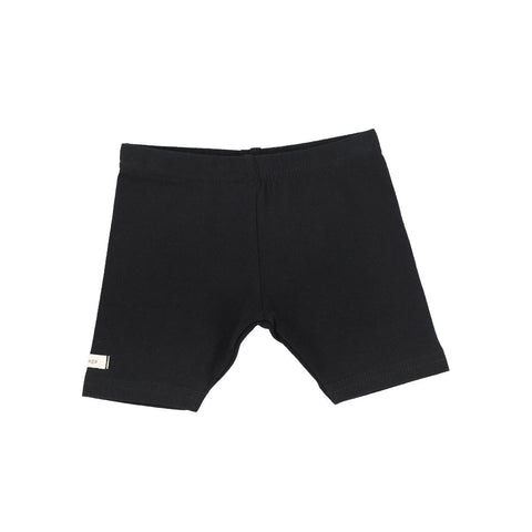 Lil Legs Black Short Leggings
