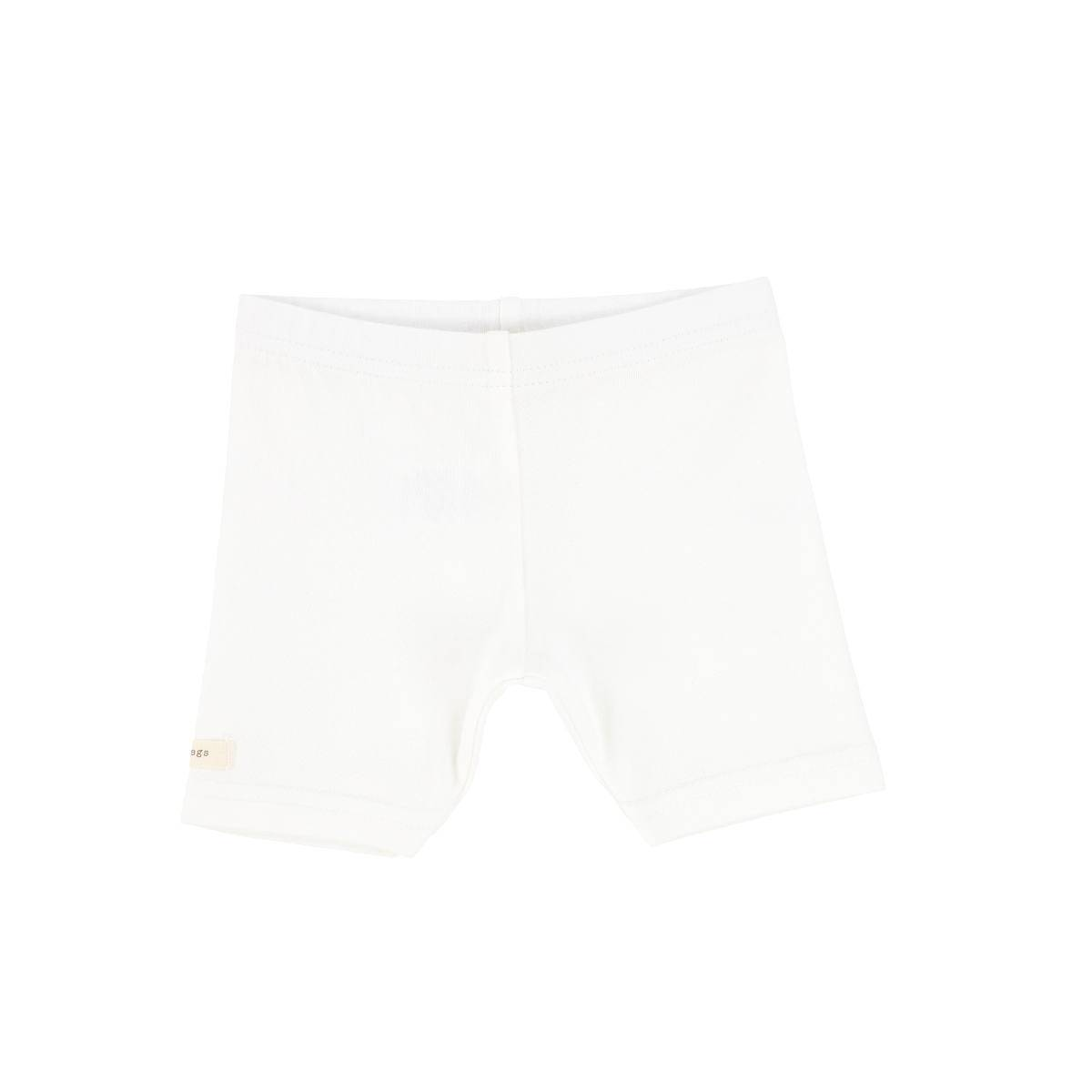 Lil Legs Winter White Short Leggings