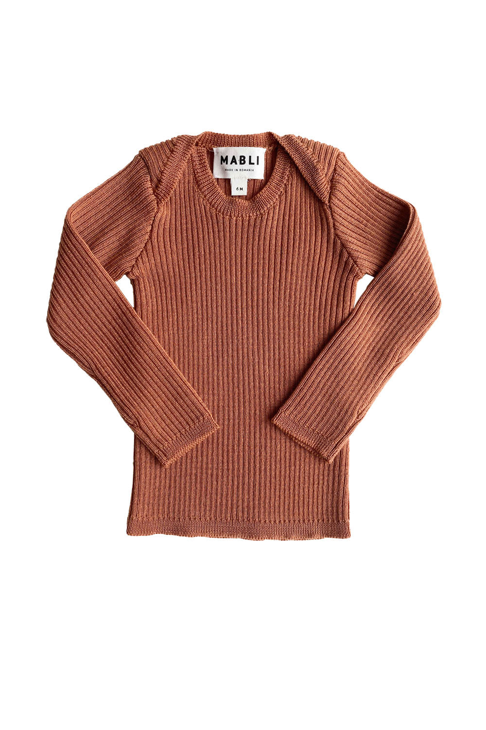 Mabli Rosewood Knitted Top