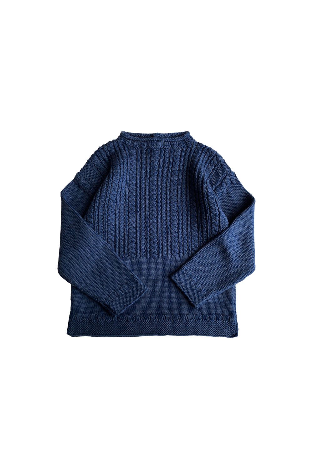 Mabli Slateblue Knitted Sweater