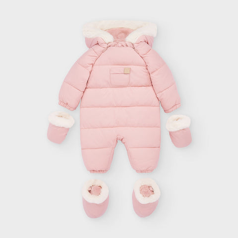 Mayoral Blush Pram Coat