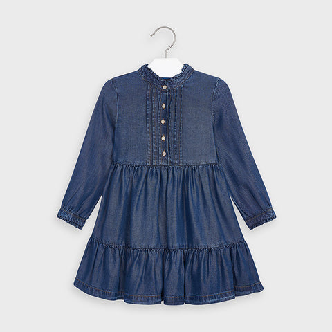 Mayoral Denim Tencel Dress