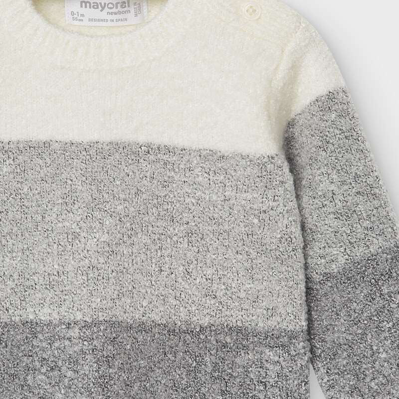Mayoral Grey Knit Set
