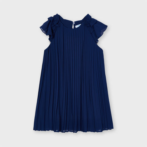 Mayoral Ink Pleated Dress