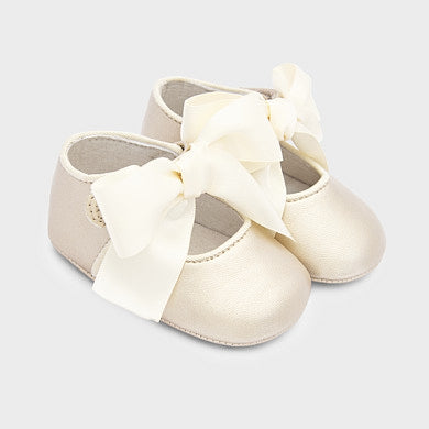 Mayoral Ivory Baby Mary Janes