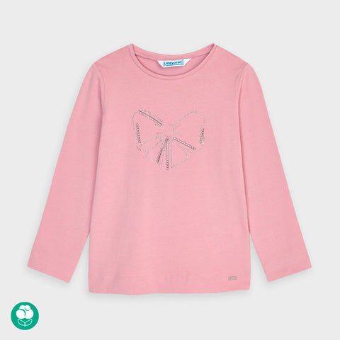 Mayoral Long Sleeve Blush T-Shirt