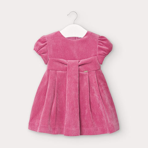 Mayoral Pink Corduroy Dress