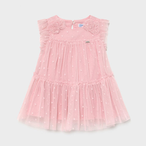 Mayoral Pink Tulle Dress