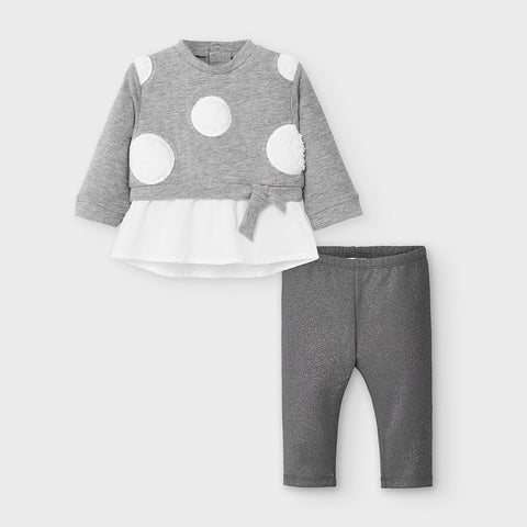 Mayoral Silver Legging Set