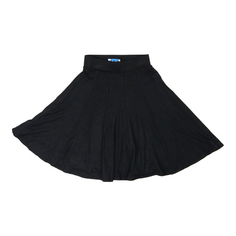 MeMe Girls' Black Swing Skirt