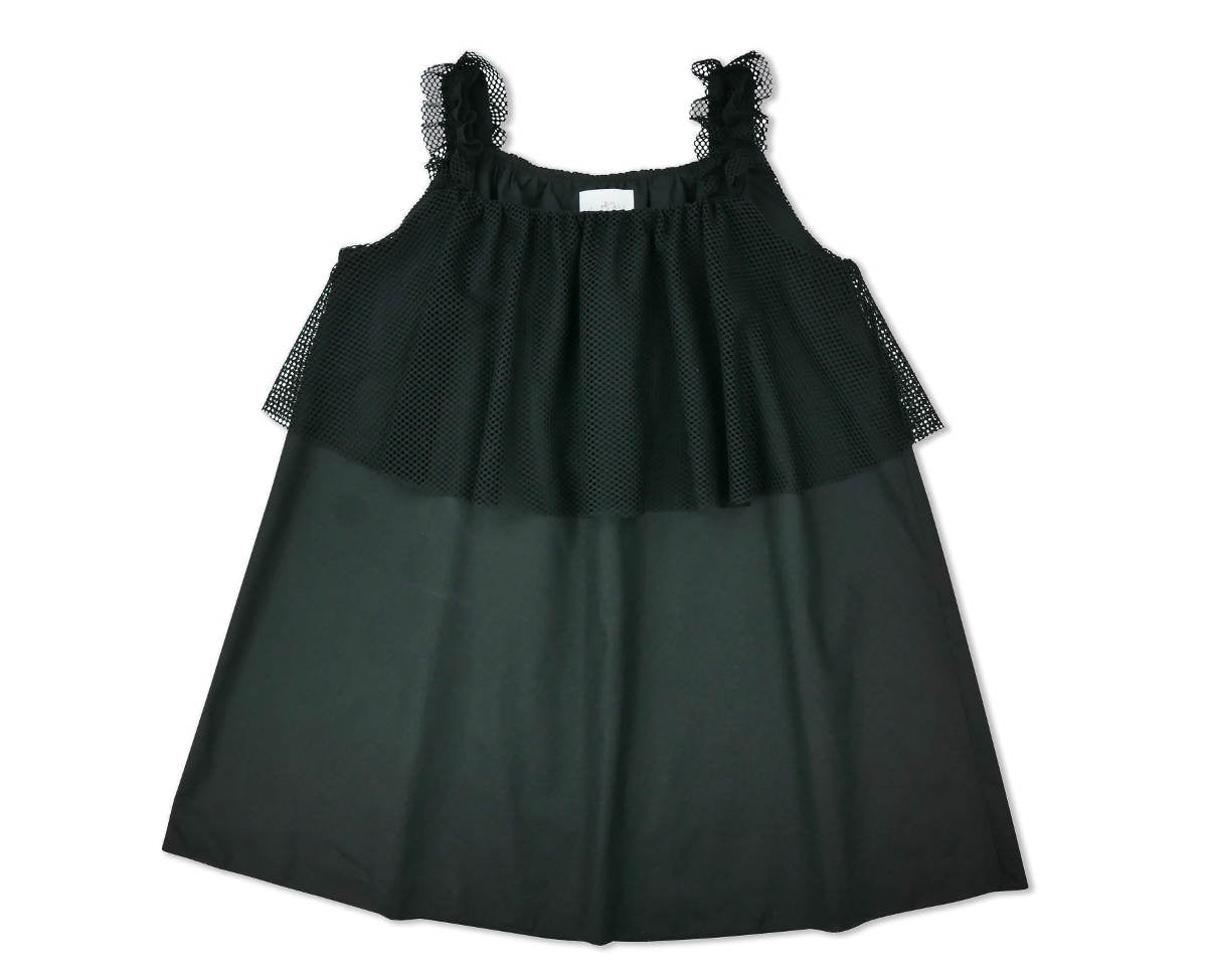 Miss L.Ray Girls' Black Jolie Dress