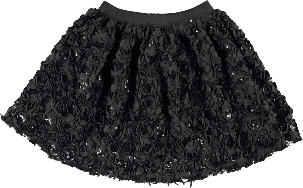 Molo Black Brickly Skirt