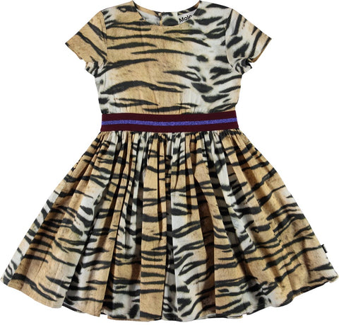 Molo Wild Tiger Candy Dress