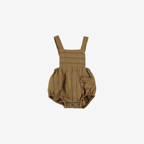 My Little Cozmo Peanut Striped Cole Romper