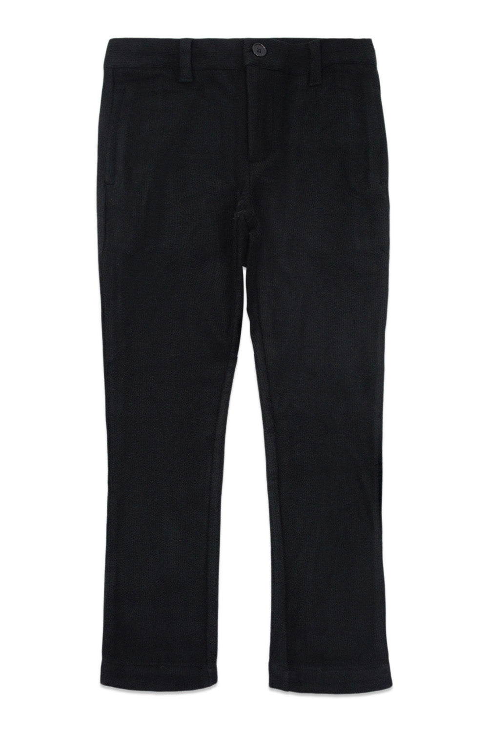 Noma Black Cord Effect Pants
