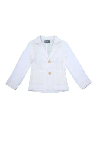 Noma Ivory CLASSIC JACKET WITH POCKETS