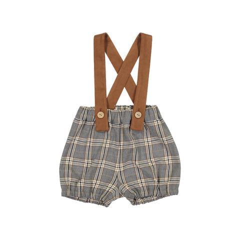 Nove Brown Plaid Bloomers