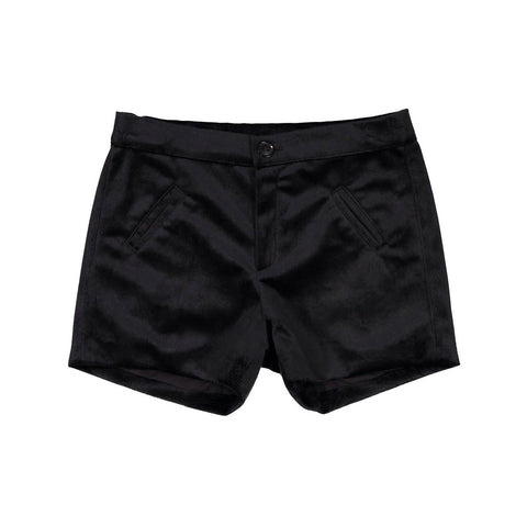 Nueces Black Velvet Altair Shorts