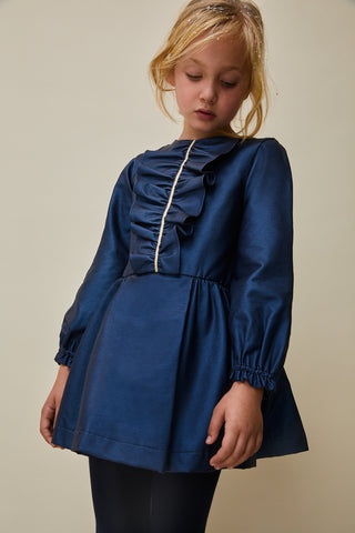 Nueces Blue Nashira Dress