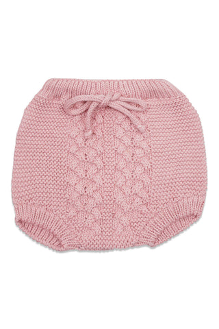 Nueces Dusty Pink Knit Bloomer