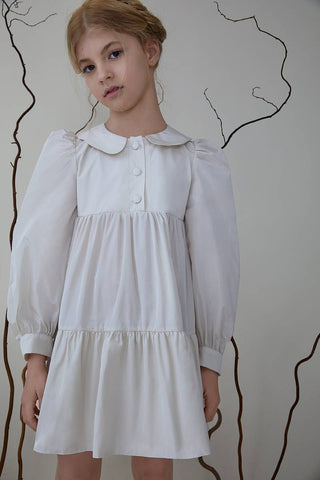 Nueces Ivory Lichi Dress