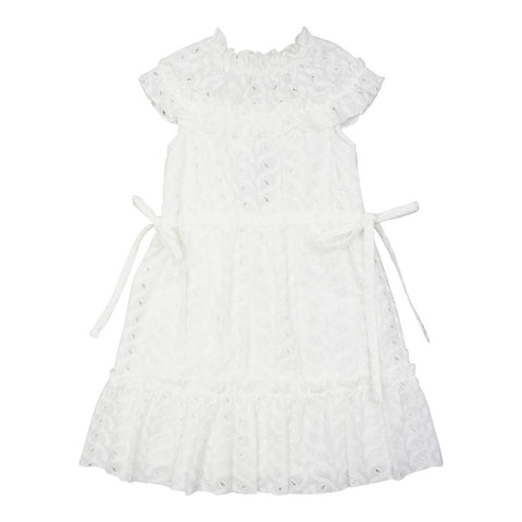 Nueces White Alamo Dress