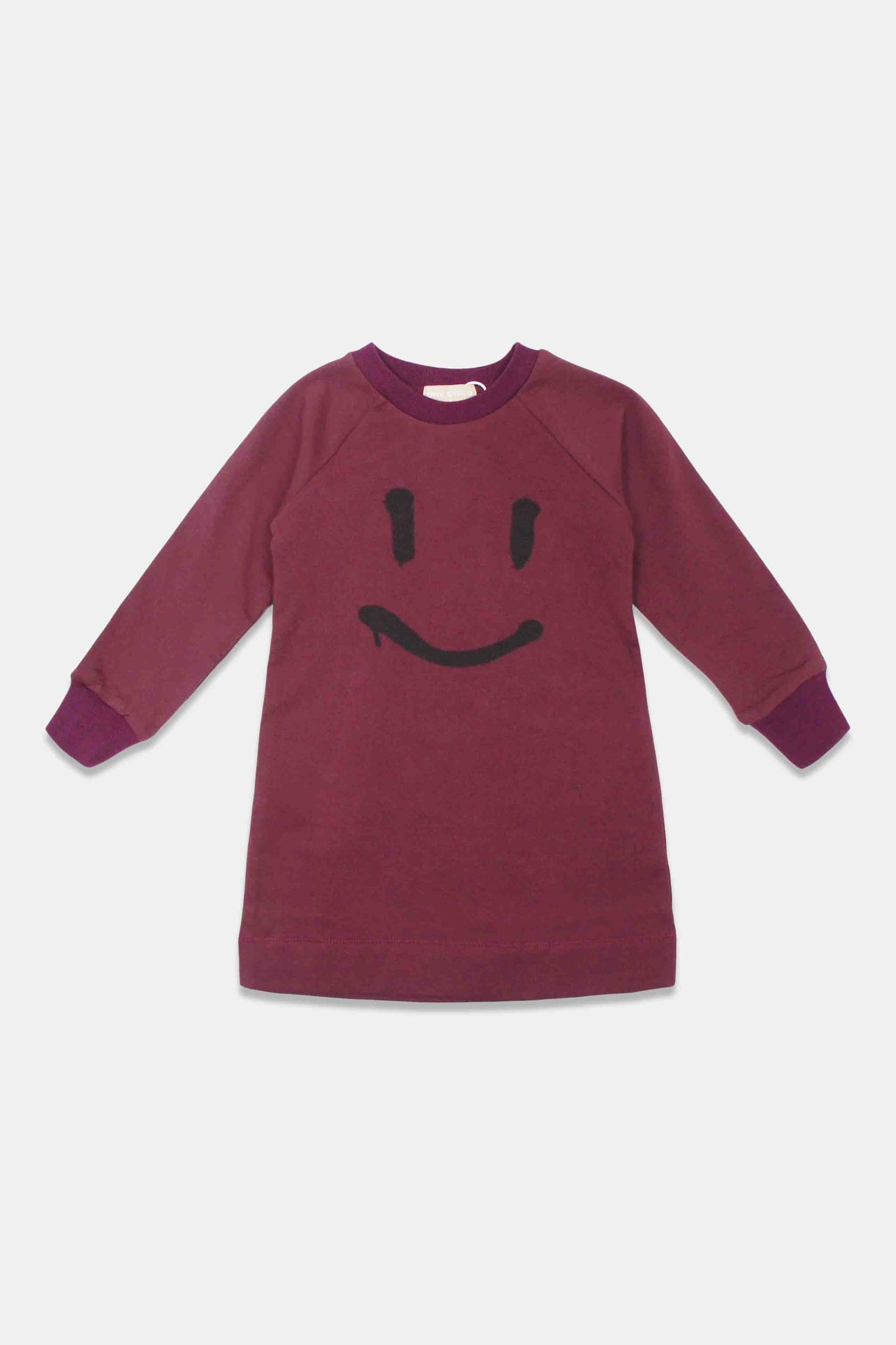 One Child Burgundy Soland Dress
