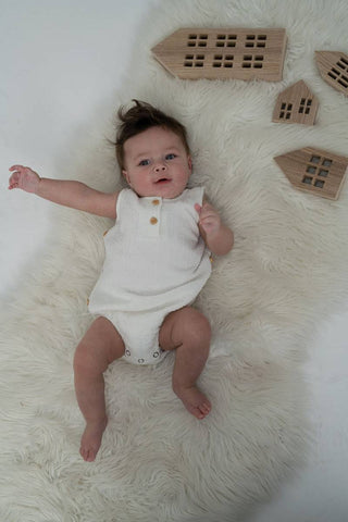 One Child Ivory Irene Romper