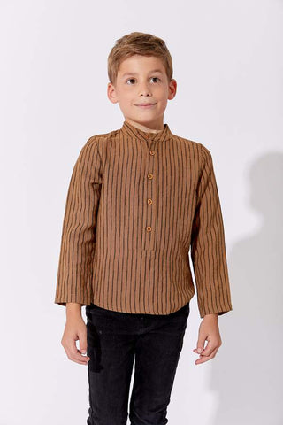 One Child Mustard Touba Shirt