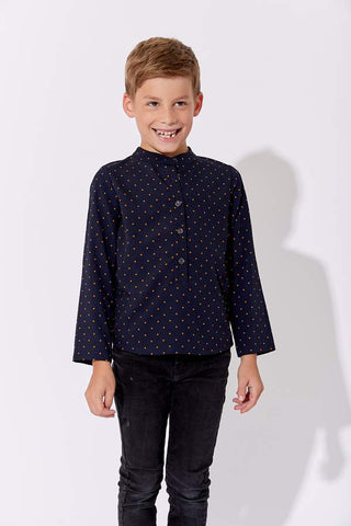 One Child Navy Stoke Shirt