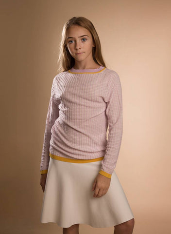 Paisley Violet Sweater