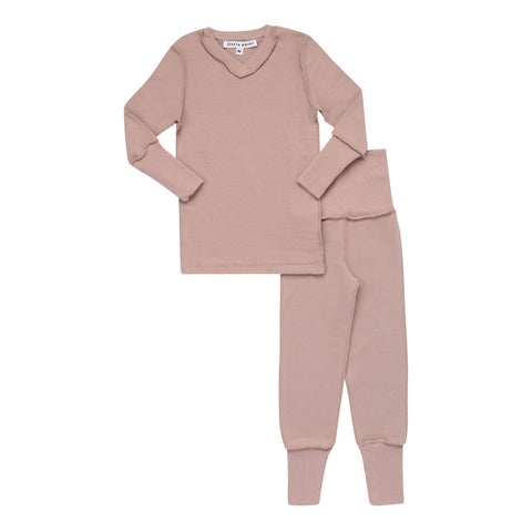 Parni Rose V-Neck Pj's