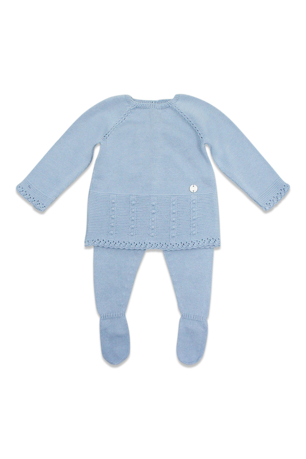 Paz Powder Blue Knit Set