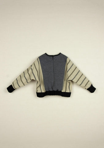 Popelin Grey Knitted Sweater