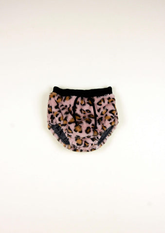 Popelin Pink Animal Print Bloomer