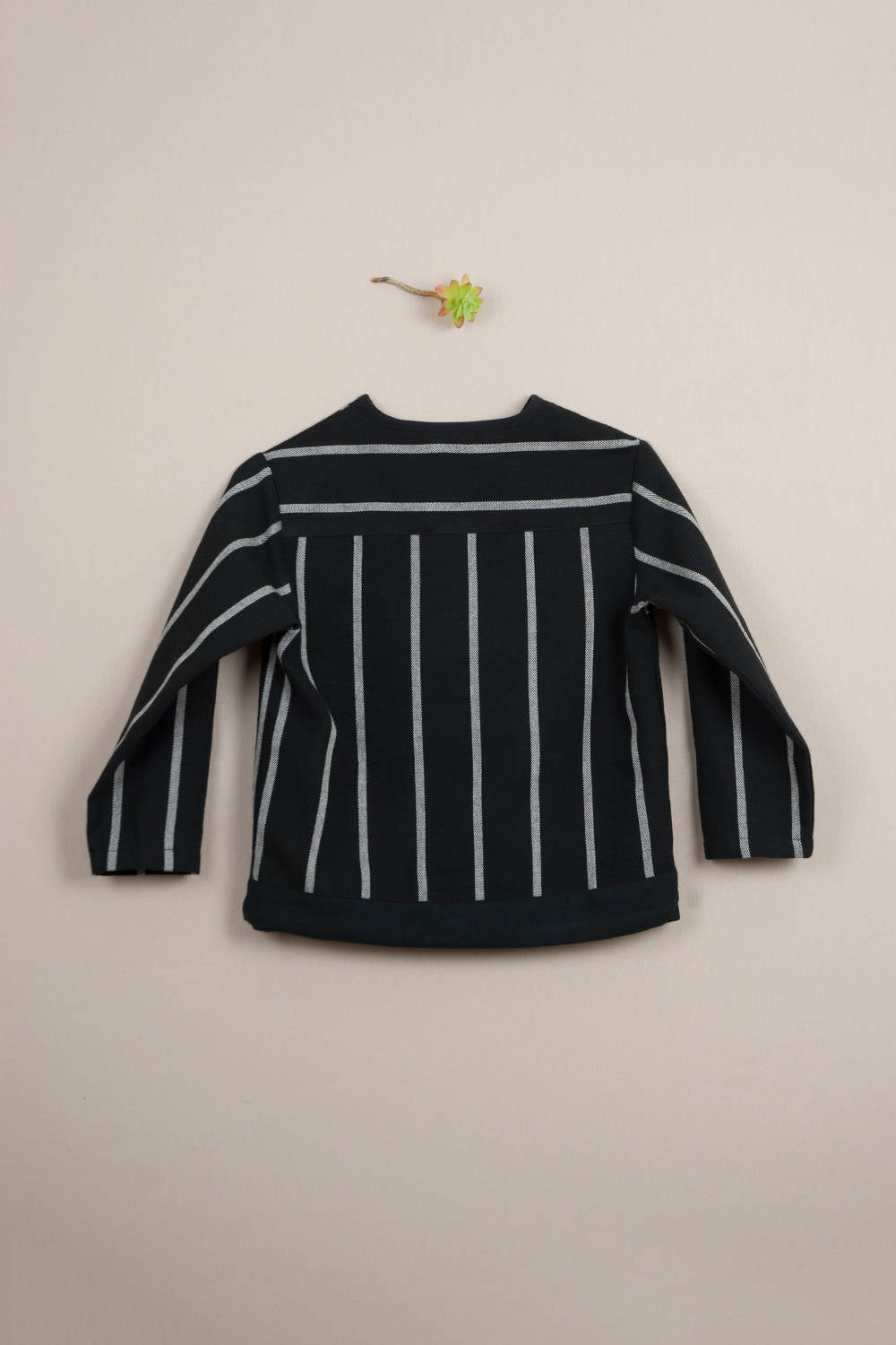 Popelin Stripped Boys Shirt