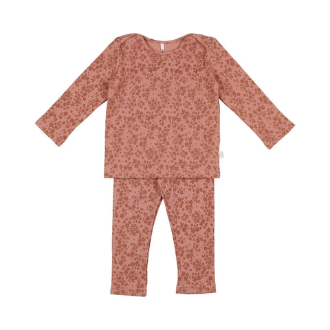 Pouf Rose Floral Loungewear Set