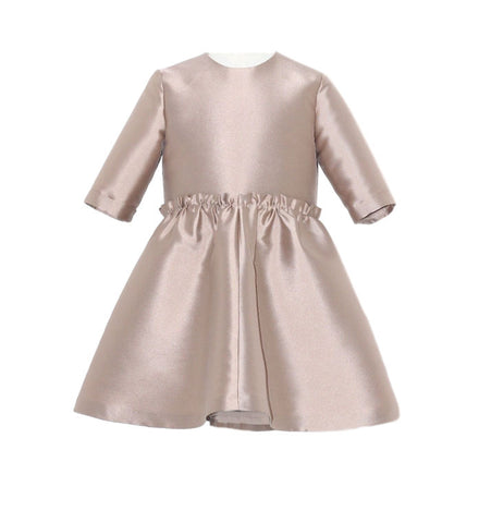 Senorita Lemoniez Beige Adela Dress