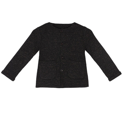 Sweet Threads Black Lurex Sweater