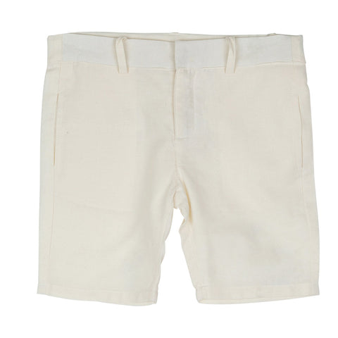 Sweet Threads Dark Cream Shorts