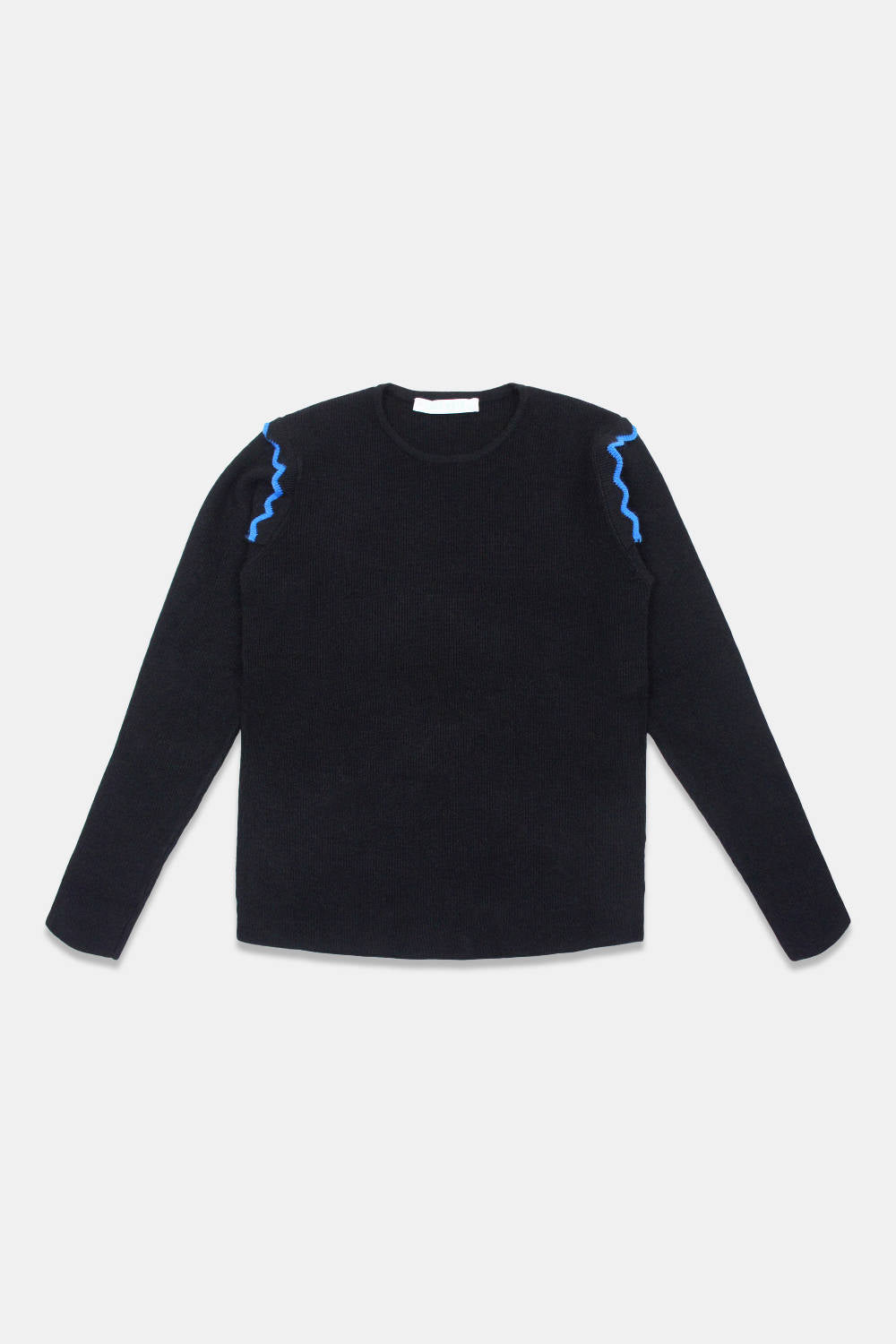 Take Note Black Faso Sweater