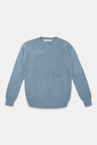 Take Note Light Blue Coulter Sweater