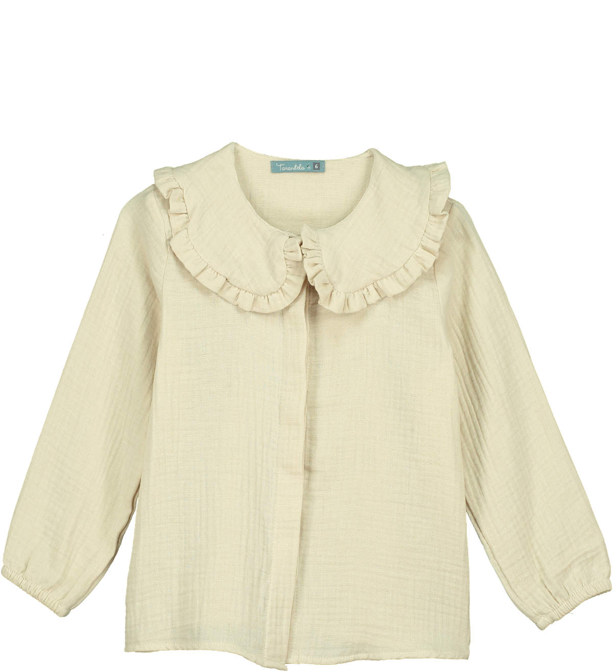 Tarantela Ivory Button Down Blouse