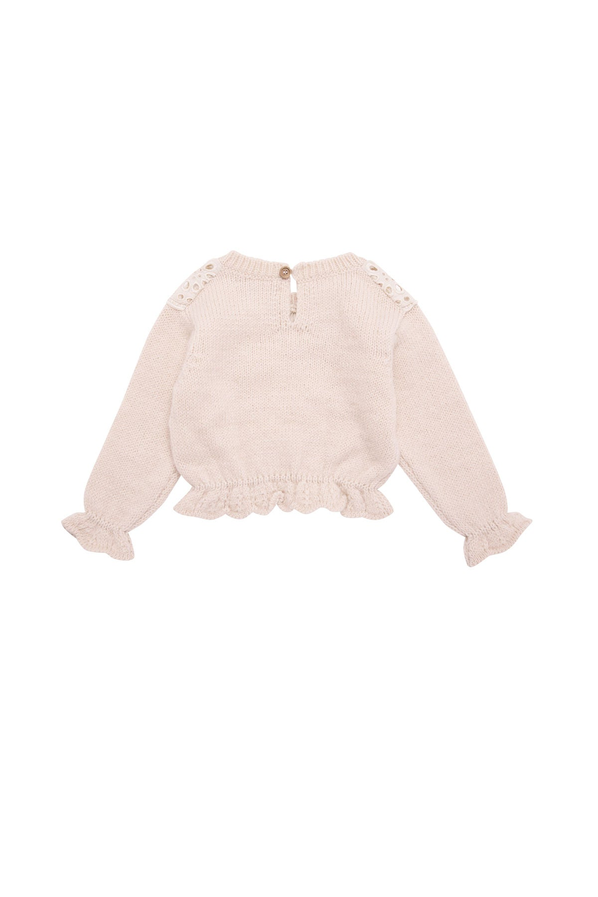 The New Society Blush Garance Baby Sweater