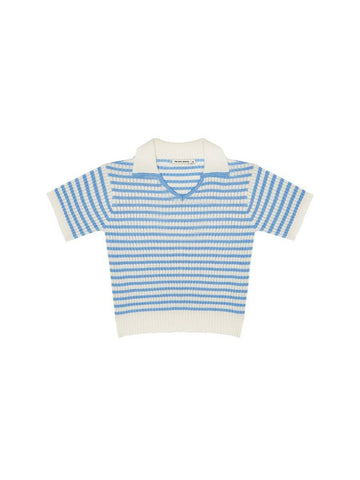 The New Society Off-White Lupita Knit Polo