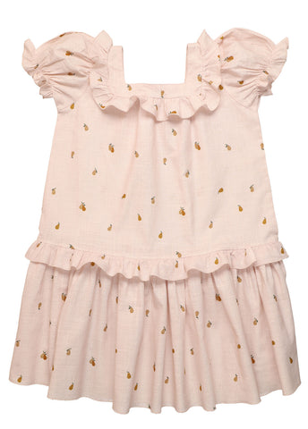 The New Society Pink Pears Rachel Dress