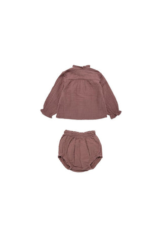 The New Society Rose Taupe Lua Set