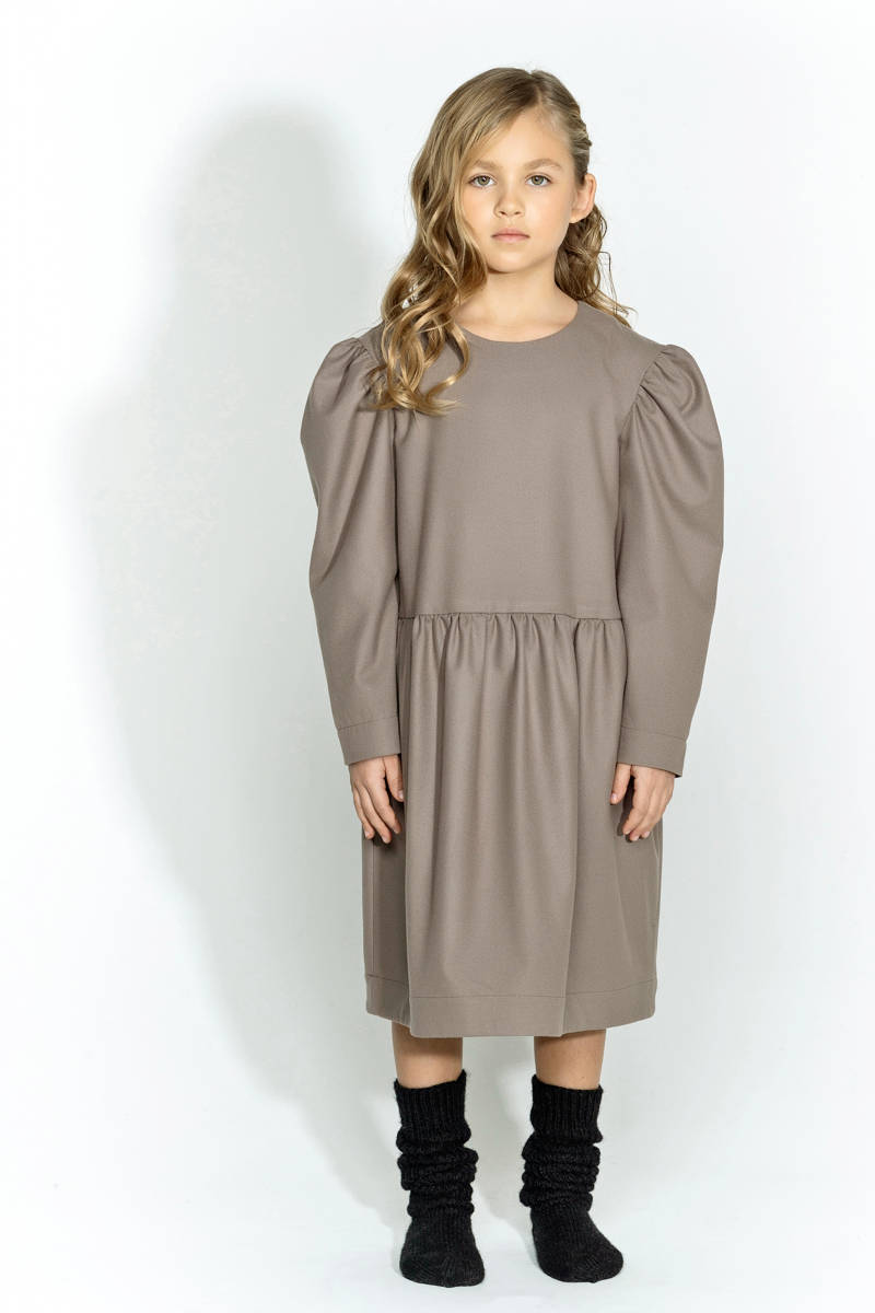 Unlabel Sand AIRI Faux Leather Dress